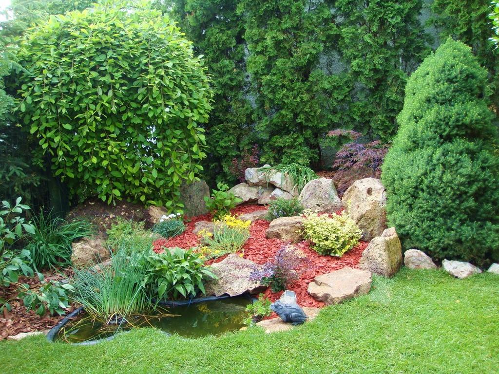Дизайн на градина в двора