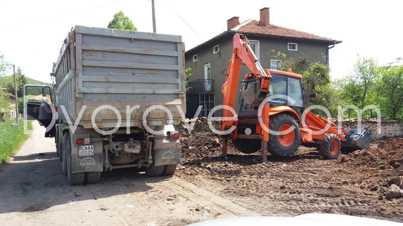 Товарене и извозване на строителни боклуци